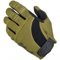 Мото перчатки - OLIVE/BLACK (размер L)