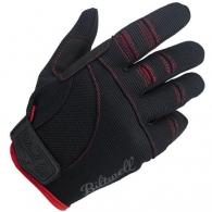 Мото перчатки - Черный/Красный (размер L)