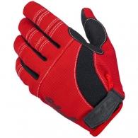 Мото перчатки - RED/BLACK/WHITE (размер М)