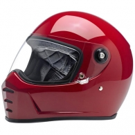 Lane Splitter Helmet - Gloss Blood Red