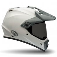 Bell MX- 9 Adventure White