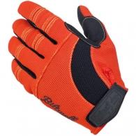 Мото перчатки -  ORANGE/BLACK/YELLOW (размер М)