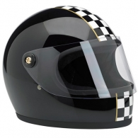 GRINGO S HELMET - LE CHECKER BLACK