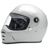Lane Splitter Helmet - Gloss White