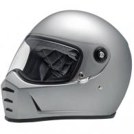 Lane Splitter Helmet - Flat Silver