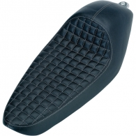 Cafe Seat - Checkerboard - for '86 - '03 Sportsters