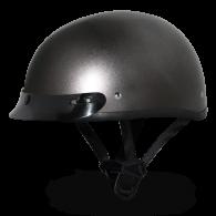 Daytona Skull Cap - Серый металлик темный с козырьком