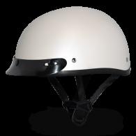Daytona Skull Cap - Белый перламутр с козырьком