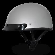Daytona Skull Cap - Серый металлик с козырьком