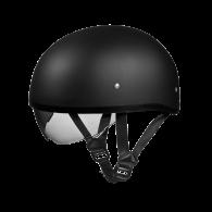 Daytona Skull Cap - Черный матовый с визором