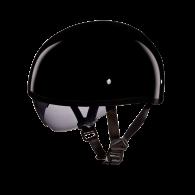 Daytona Skull Cap - Черный глянцевый с визором