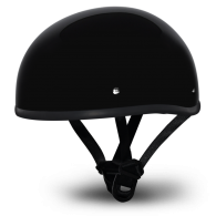 Daytona Skull Cap - Черный глянцевый